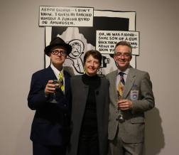 Omnis Temporalis, with Seth and Curator Nan Capogna