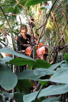 At Bloedel Conservatory with Redshift Music, 2013